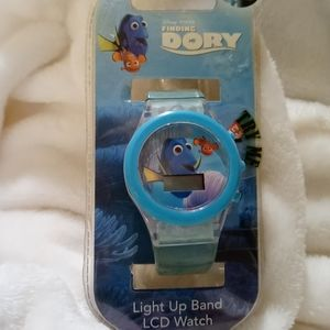 Disney's Finding Dory LCD light up watch
